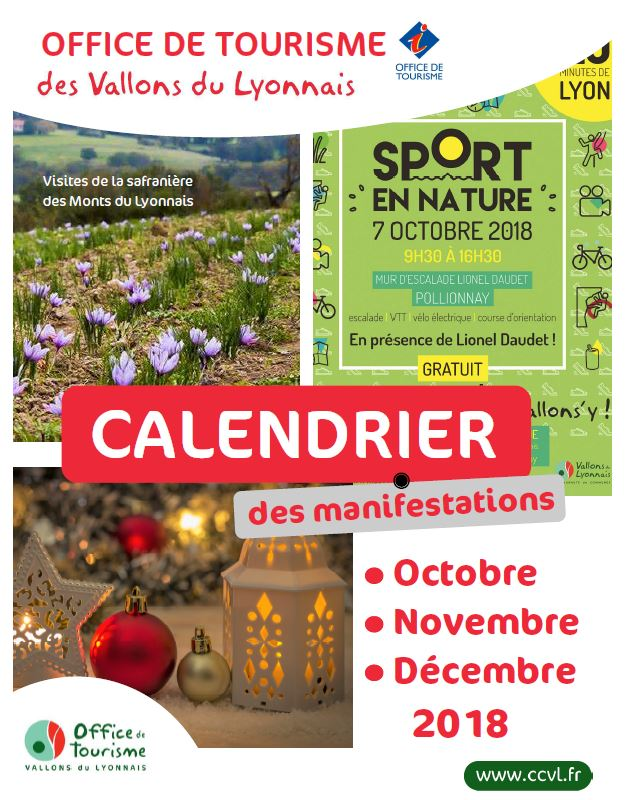 Couverture Calendrier Oct Nov Dec 2018